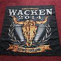Wacken 2014 flag.