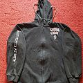 Cannibal Corpse - Butchered At Birth hooded zipper, XL. Hooded Top
