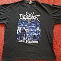 Desaster - Divine Blasphemies tshirt, XL.