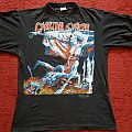 Cannibal Corpse - Tomb/European Tour 1993 tshirt, L.