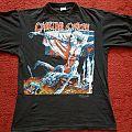 Cannibal Corpse - Tomb/European Tour 1993 tshirt, L.