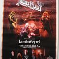 Judas Priest - Other Collectable - Judas Priest Epitaph tour Singapore flyer