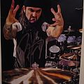 Dream Theater - Other Collectable - Mike Portnoy mini poster signed
