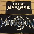 Patch - DIY Circus Maximus and Wintersun patches