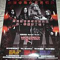 Megadeth - Other Collectable - Megadeth Live in Taipei 2012 Thirteen World Tour poster