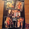 Def Leppard - Other Collectable - Def Leppard poster 1985 (x2)