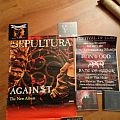 "Sepultura Promo 1998 ""Against poster"