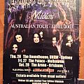 Cradle Of Filth - Other Collectable - Cradle Of Filth Australian Tour Poster 2001