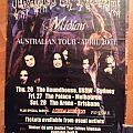 Cradle Of Filth Australian Tour Poster 2001