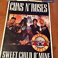 Guns N' Roses - Other Collectable - Guns N Roses sweet Child 1988 poster
