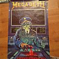 Megadeth - Other Collectable - Megadeth holy wars poster 1990