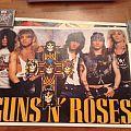Guns N Roses poster 1987-1988