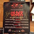 Vader Australian tour 2007 poster signed by band