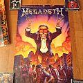 Megadeth - Other Collectable - Megadeth sympathy of destruction poster 1992