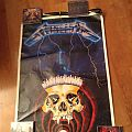 Metallica - Other Collectable - Metallica Ride The Lightning Poster 1988