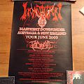 Incantation Australian tour 2003 Poster