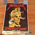 Metallica - Other Collectable - Metallica 1988 Tour Poster U.K 1988