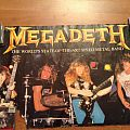 Megadeth state of the art speed metal poster 1987