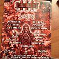 Incantation - Other Collectable - Bloodlust 3 Sydney gig poster 2003