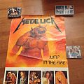 Metallica - Other Collectable - Metallica Jump in the fire poster 1984
