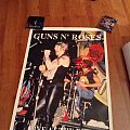 Guns N Roses poster 1988 live at the ritz
