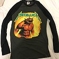 Metallica jump in the fire tshirt