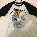 Metallica money tips her scales again tshirt