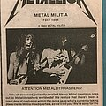 Metallica - Other Collectable - Heavy metal book sold