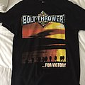 Bolt thrower  for victory reprint 1995 tour