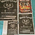 Motörhead - Other Collectable - Motorhead and Motley Crue tour posters n flyers  2007