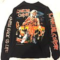 Cannibal corpse eaten back to life tour 92 reprint
