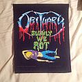 Obituary Slowly we rot Back pacth Patch