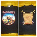 "iron maiden ""the trooper Ed hunter '99"" Europe shirt"