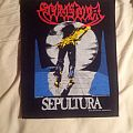 Sepultura 1990 Backpacth Patch