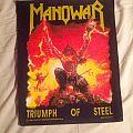 Manowar Triumph of steel backpatch
