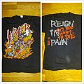 """TShirt or Longsleeve - Slayer """"Reign in blood """" tour t shirt 1987"""