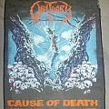 Obituary Cause of death backpatch