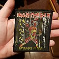 "Iron Maiden - Patch - Iron Maiden ""Somewhere in time"" patch"