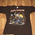 """Iron Maiden - TShirt or Longsleeve - Iron Maiden """"No prayer for the dying"""" tour shirt"""