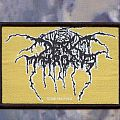 Darkthrone - Patch - darkthrone logo patch
