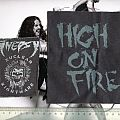 HIGH ON FIRE - Patch - Screen Printed Patches