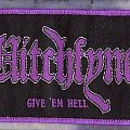Witchfynde - Patch - Witchfynde strip patch