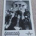 Dissection promo foto/card official original A5 Other Collectable