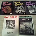 Iron Maiden old fanclub newsletters Other Collectable