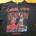 Cannibal Corpse - TShirt or Longsleeve - Cannibal Corpse - Butchered at birth, tour '91