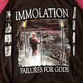 Immolation - Failures for gods TShirt or Longsleeve