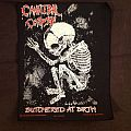 Cannibal Corpse - Patch - Cannibal Corpse - Butchered at birth, original backpatch