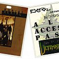 Other Collectable - Extol concert laminate 1999