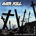 Overkill - Tape / Vinyl / CD / Recording etc - Overkill autographed CDs