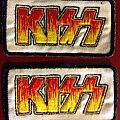 KISS embroidered patches
